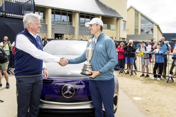 Mercedes-Benz showcases the future of electromobility at The 147TH Open