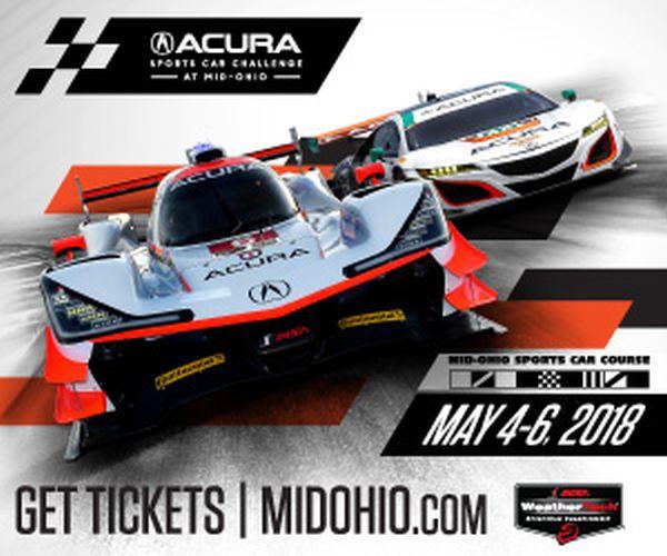 Mid Ohio Acura Sports Car Challenge Practice 2 Classification