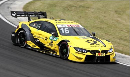 Home race for BMW at Norisring, Nuremberg