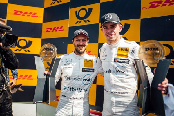 Gary Paffett and Paul Di Resta take podiums in second race at Zandvoort
