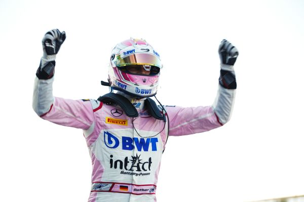 Günther cruises to maiden victory in Silverstone F2 Sprint Race