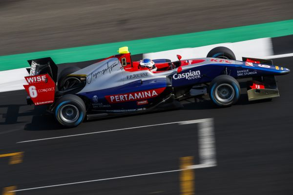 Alesi snatches control of Silverstone GP3 Free Practice
