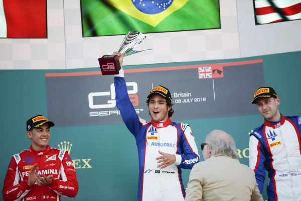 Pedro Piquet claims maiden GP3 win in Silverstone Race 2