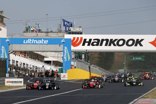 Young drivers to battle it out with one another at Hungary's GP circuit