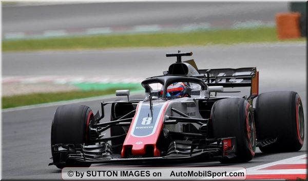 Haas F1 Team Spanish Grand-Prix qualifying
