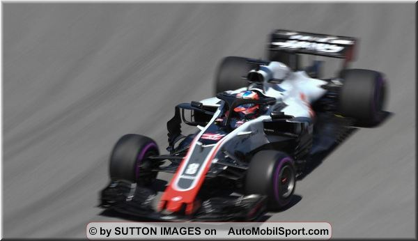 Haas F1 Team Canadian Grand-Prix practices