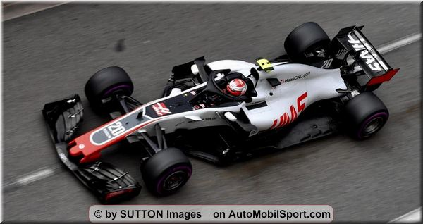 Haas F1 Team Monaco Grand-Prix qualifying