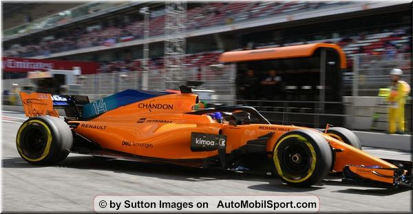 McLaren F1 Team Spanish Grand-Prix free practices review