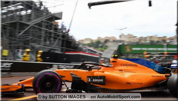 McLaren F1 Team Monaco Grand-Prix practices