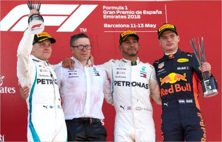 Mercedes AMG Petronas F1 Spanish Grand-Prix race review