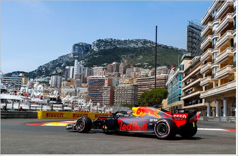 F1 Monaco Grand-Prix race classification