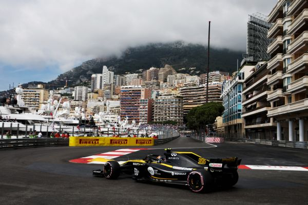Renault Sport F1 Team Monaco Grand-Prix practices