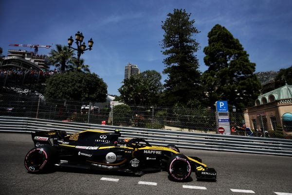 Renault Sport F1 Team Monaco Grand-Prix qualifying