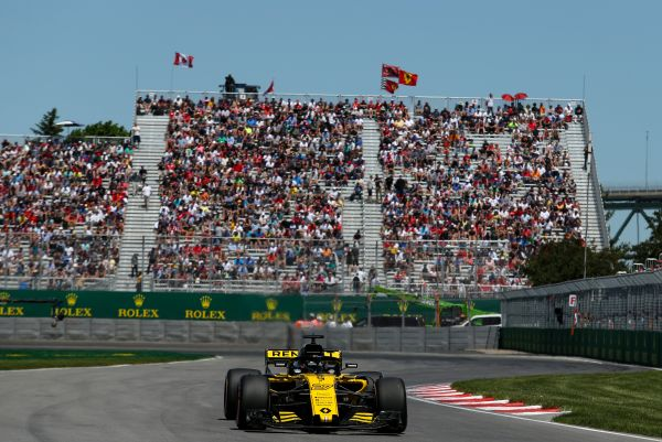 Renault Sport F1 Canadian Grand-Prix qualifying