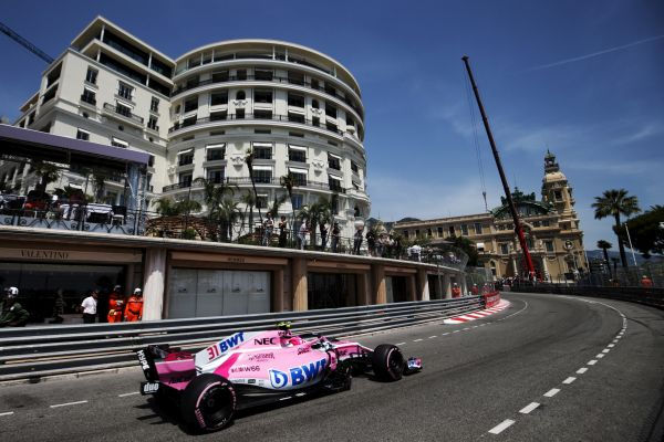 Sahara Force India F1 Monaco Grand-Prix qualifying
