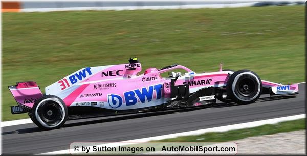 Sahara Force India F1 Spanish Grand-Prix practices
