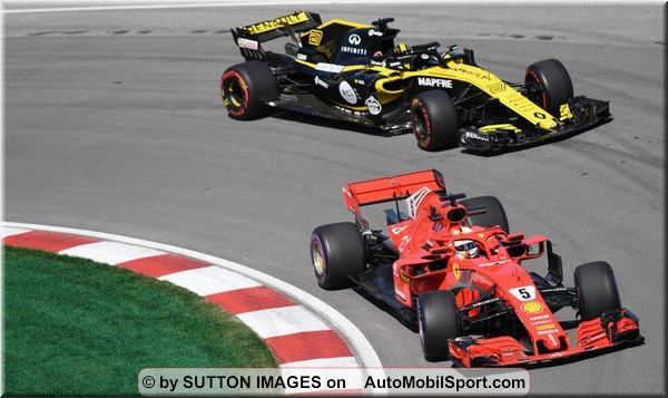 Qualifying results - Canadian Grand-Prix, Montreal
