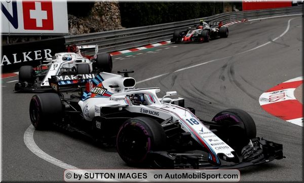 Williams Martini Racing F1 Monaco Grand-Prix race review
