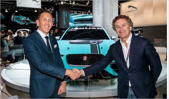 Alejandro Agag to debut Jaguar I-Pace eTrophy Racecar in Berlin e-Prix