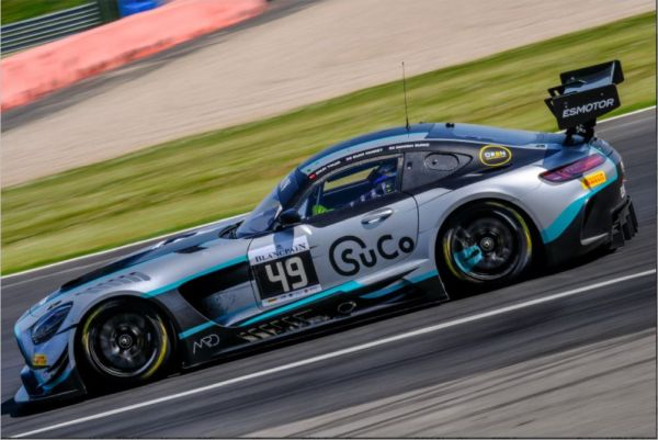 Silverstone Blancpain GT Series pre-qualifying classification