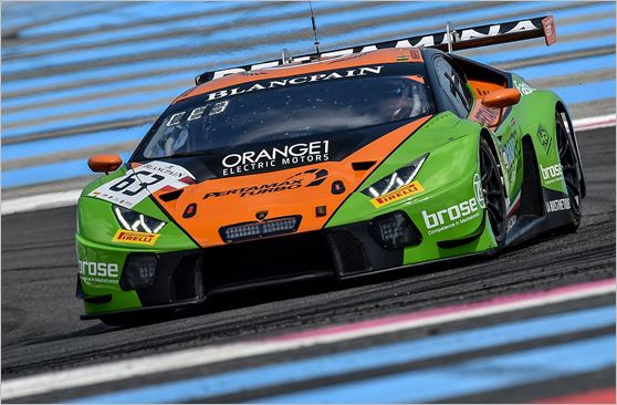 Tough Race For GRT Grasser Racing Team in Paul Ricard