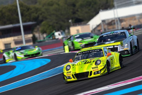 Porsche 911 GT3 R finishes on tenth at six-hour race in Le Castellet