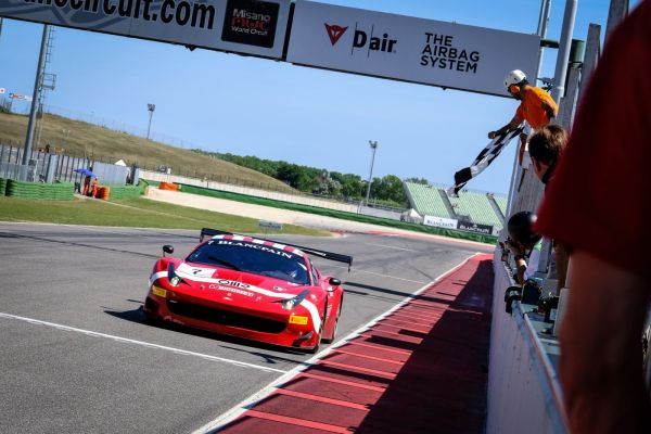 Luigi Lucchini scores main race victory at Misano, Klaus Dieter Frers flies to Iron Cup win