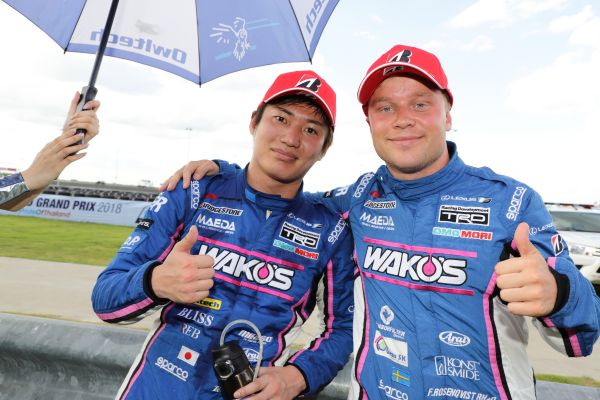 Super GT Thailand, Buriram results and standings