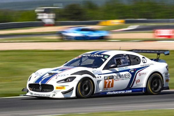 Two Maserati cars for Villorba Corse at the Red Bull Ring