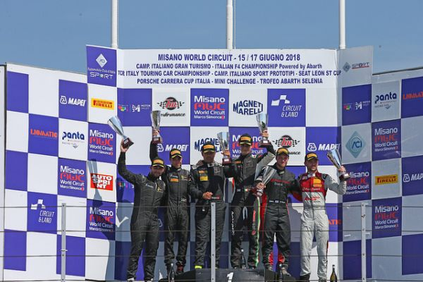Clean win and comeback race highlight awesome Audi Sport Italia Misano weekend