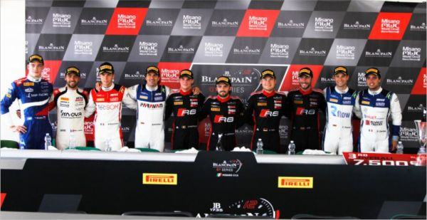 Driver quotes after Blancpain GT Series Sprint Misano race 2