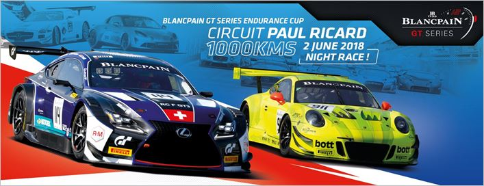 Blancpain GT Series gears up for 1000km race into the night at Paul Ricard