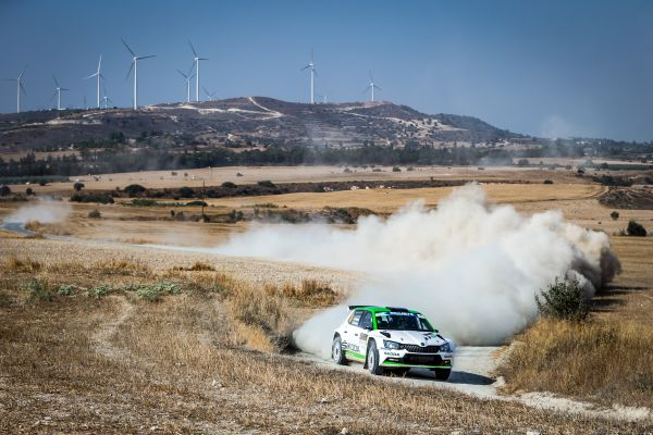 Cyprus Rally news - Nordgren rolls out of lead