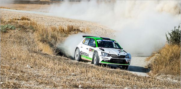 Cyprus Rally stage 6 overall classification Nordgren takes lead
