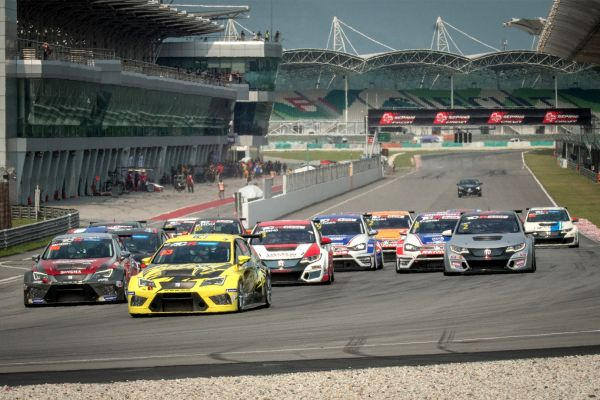 TCR Asia & TCR Thailand - The two series race together again at Buriram