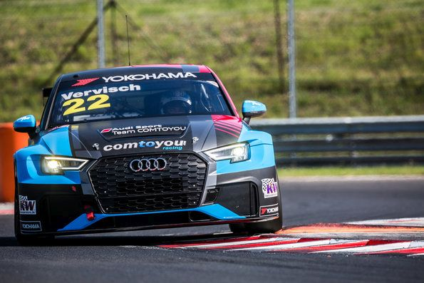 Disappointment for Audi in WTCR – FIA World Touring Car Cup in Hungary