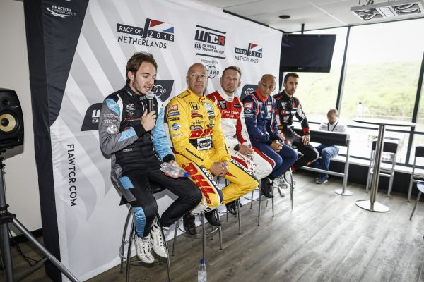 WTCR Race of Netherlands pre-event press conference