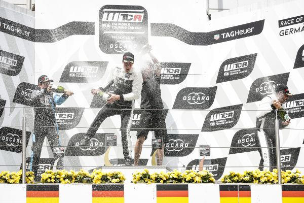 WTCR Race of Germany race winner quotes from Nürburgring