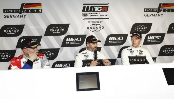 FIA WTCR Race of Germany race 1 press conference