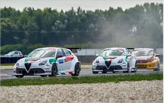 Triumphant weekend for the Alfa Romeo Giulietta TCR by Romeo Ferraris