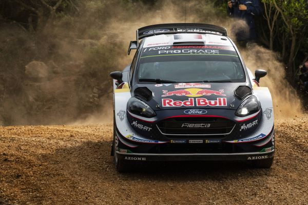 Sébastien Ogier leads Rally Italia Sardegna after a dramatic opening leg.
