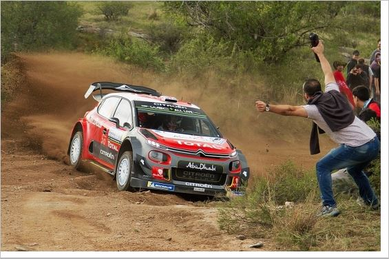 Citroen Total Abu Dhabi WRT out of luck in Argentina