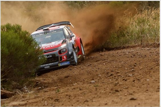 Citroen Abu Dhabi Total WRT Team on the pace in Argentina shakedown