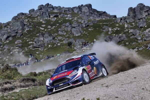 Ford Fiesta R5 updates from Saturday stages in Portugal