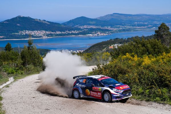 Ford Fiesta R5 quotes after Rally de Portugal Friday stages