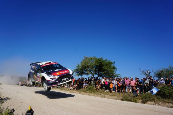 Ford Fiesta R5 quotes from Sunday Argentina Rally stages