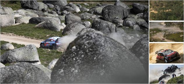 Neuville doubles lead at Rally de Portugal to boost title hopes