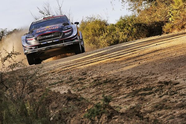 Ogier remains in contention after first day in Argentina