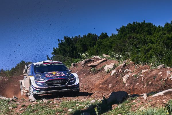 Ogier holds Sardinia lead ahead of epic final day battle