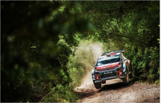 Mads Ostberg now in contention for fourth place in Rally Italia Sardegna